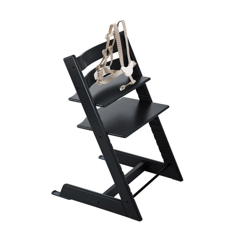 Chaise Tripp Trapp Noir Ile Des Enfants